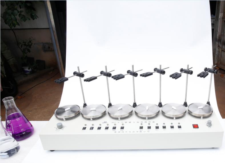 六聯磁力攪拌器 不銹鋼加熱管 不銹鋼攪拌托盤 加熱耐用 攪拌穩定